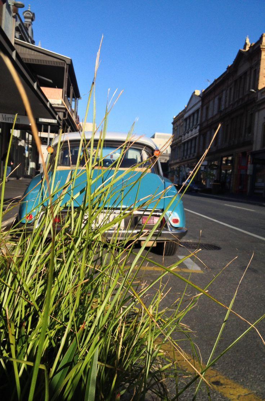 Peter's gorgeous blue Citroen DS Rundle Street East, Adelaide city • Saturday 5 April 2014