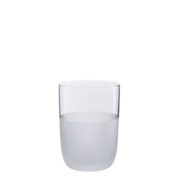 Ethos - Monroe Set of 4 Frosted Glass Tumbler Gift Boxed