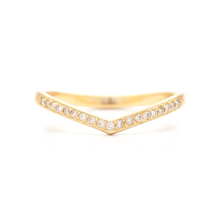"""Coined the""""magic band"""" we have yet to come across a ring that doesn't playwell with this piece...it is equally aselegantworn alone or stacked up. Approximately 0.95ctw  •Please allow 2 weeks for delivery"""