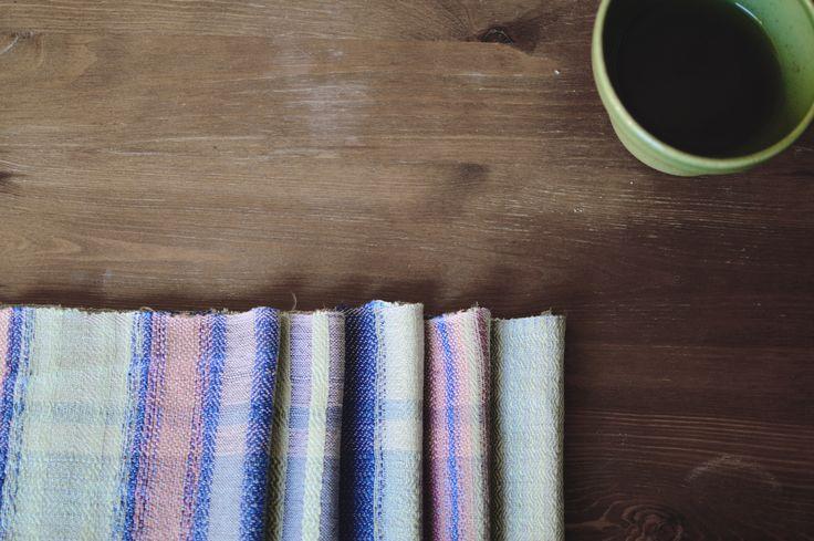 hand woven kitchen textile - Eszter Tóth