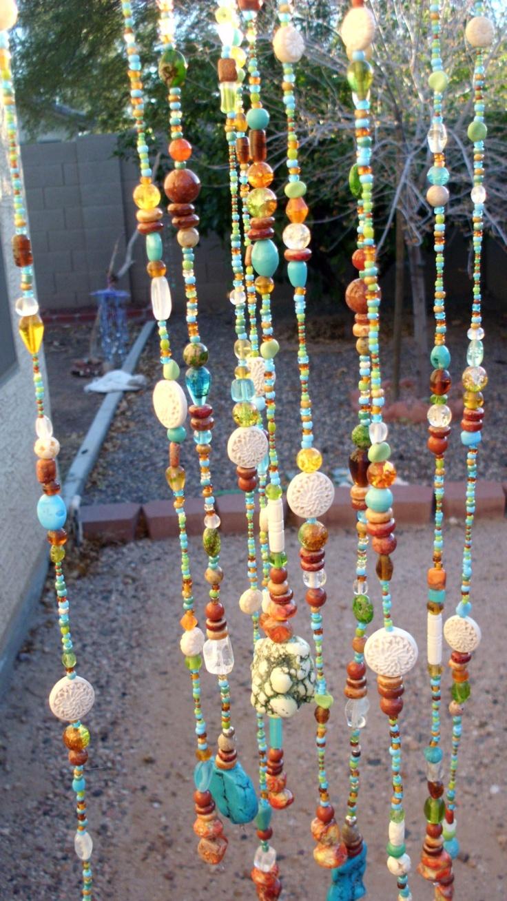 Ha hanging bead curtains for doorways - Glass Beaded Mobile Beaded Curtainsdoor