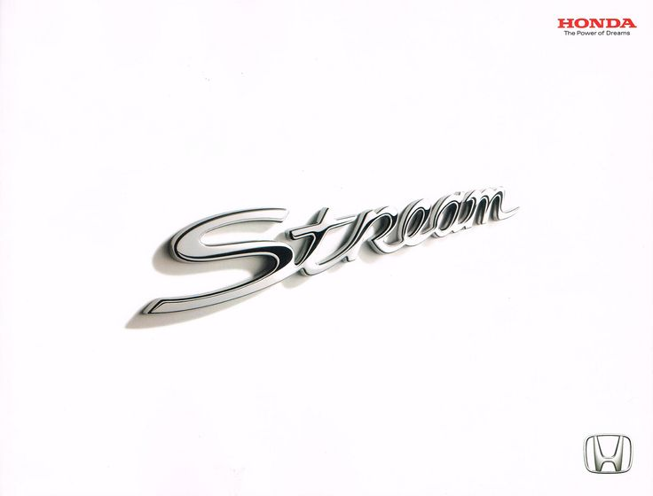 Honda Stream Mk1 Japan Brochure 2001