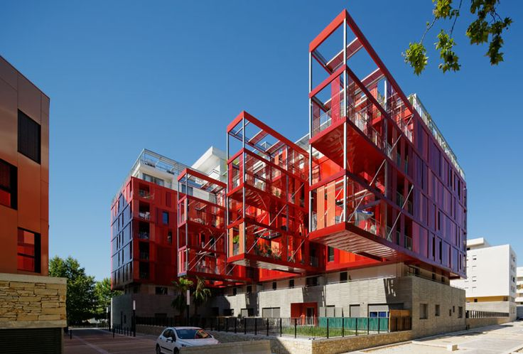 Montpellier Houses by Jean-Paul Viguier