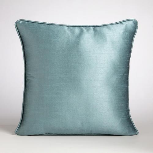 How To Make Decorative Pillows With Piping : Aegean Dupioni Throw Pillow with Piping Throw pillows, Products and Le veon bell
