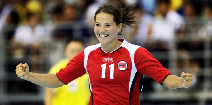 Kari Mette Johansen, norwegian team handball player.