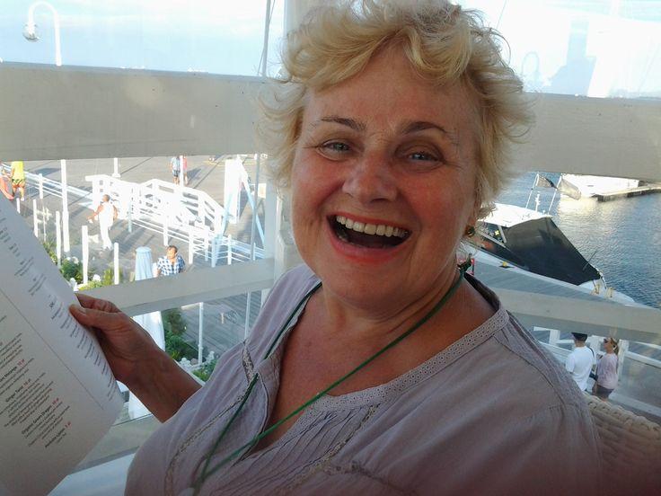 Olga Szwajgier in Sopot with us! #olgaszwajgier