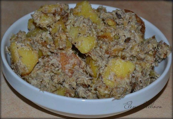 Обалденно-аппетитная картошка с грибочками:) Моя интерпретация:)
