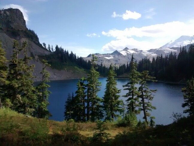 Chain lakes, Mt Baker