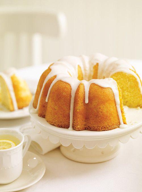 Gâteau Bundt au citron ( le babeurre peut être remplacé par du yogourt grec )