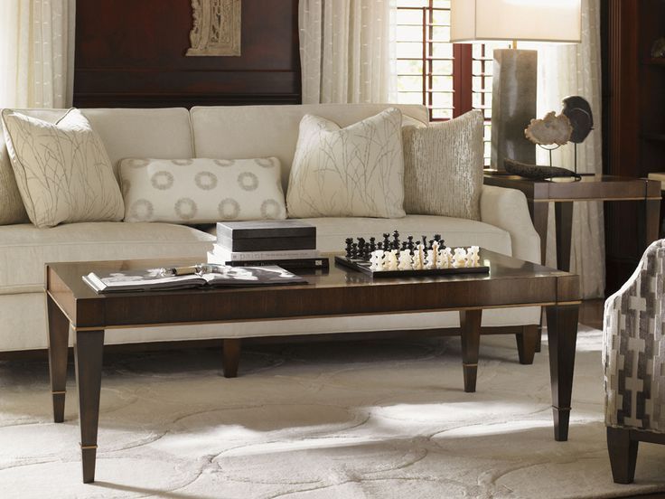 Tower Place  Wheaton Rectangular Cocktail Table   Lexington Home Brands  Furniture. 103 best Home Accent Pieces images on Pinterest