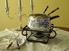 Fondue - Wikipedia, the free encyclopedia