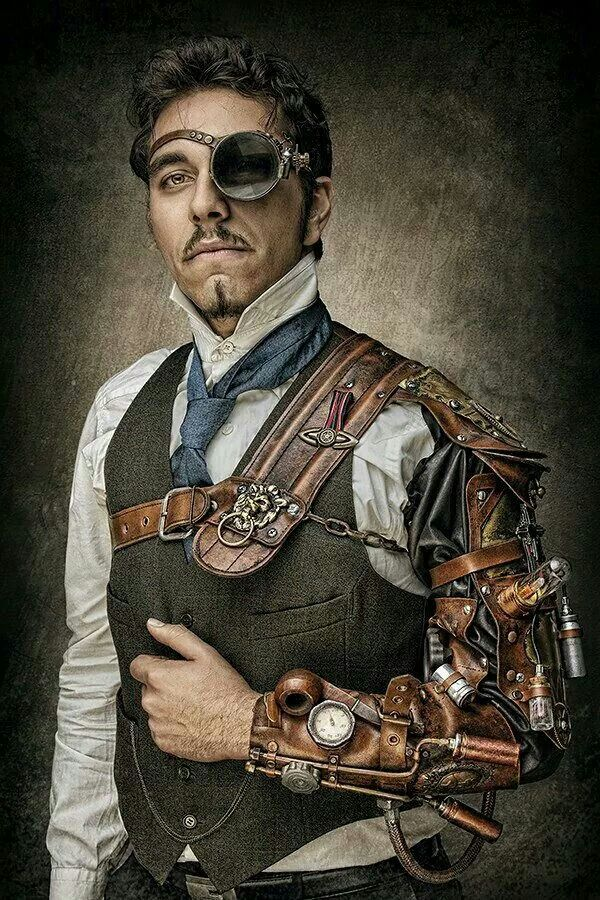 BEFORE YOU PIN THIS! Check out the steampunk story featuring a character…