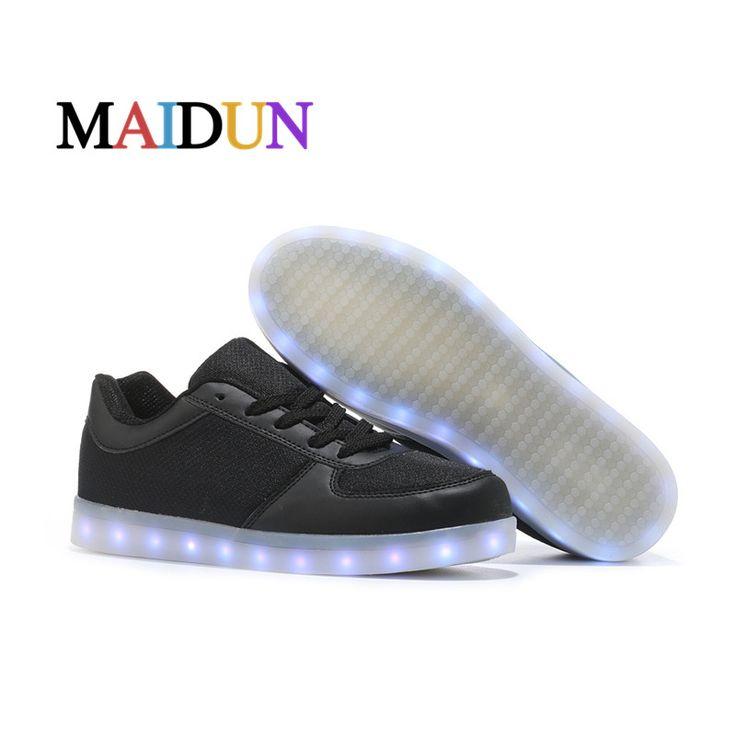 >> Click to Buy << LED Shoes men tenis masculino esportivo Fashion Casual shoes Glowing Colorful flashing luminous light up shoes superestrella men #Affiliate