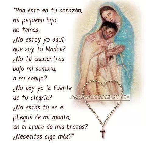 oracion de la Virgencita de Guadalupe
