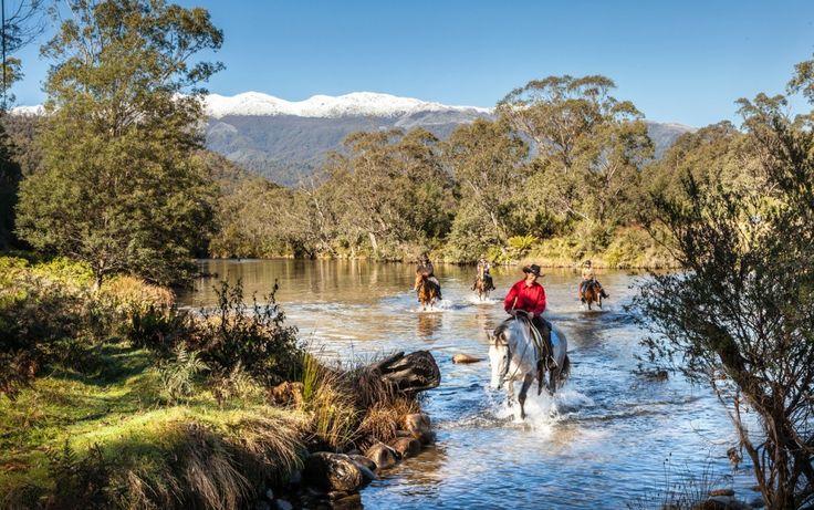Horse riding in the Snowy Mountains #NSWgetaways #notimelikethepresent