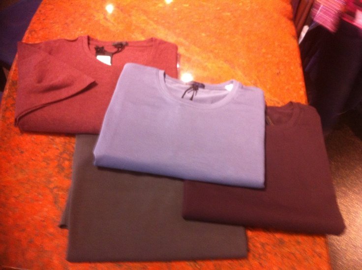 PYA t-shirts made in Peru! Everybody has been loving these t-shirts. They don't fade in colour, pill, stretch or warp around the neck. Darren has been living in his PYA t-shirts!