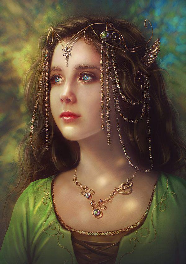 Young Arwen by Incantata.deviantart.com on @DeviantArt