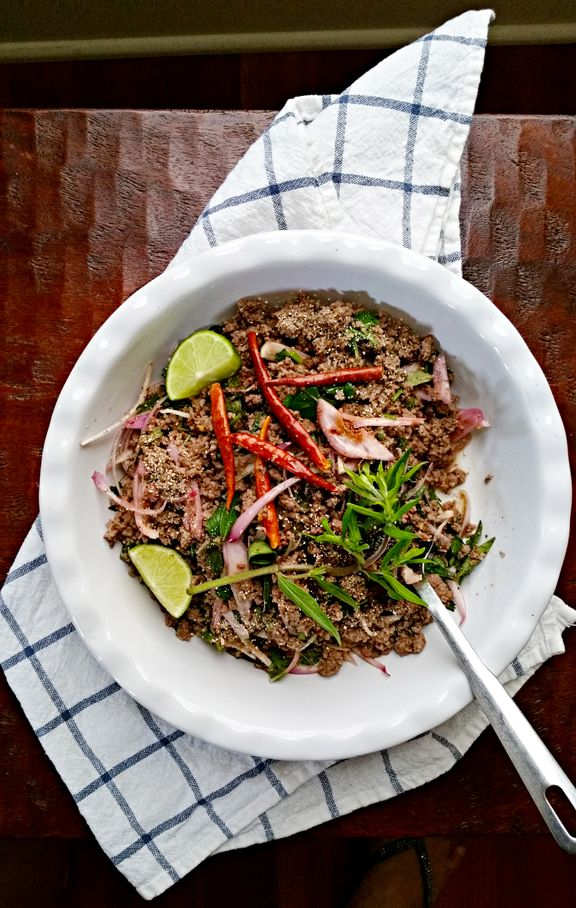 10 best simple thai food cookbook images on pinterest asian bison salad with mountain mint isan style by leela punyaratabandhu author of simple thai food classic recipes from the thai home kitchen forumfinder Gallery