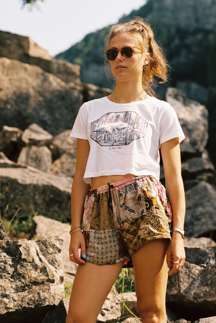 The Lonely Whale Crop Top