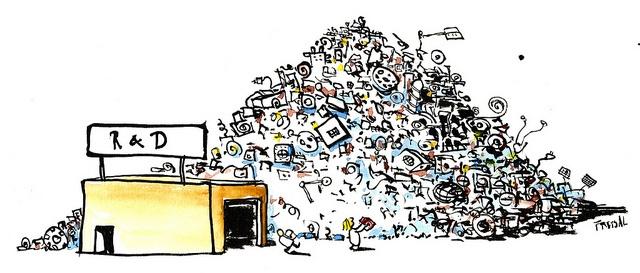 Er det tid og rom for innovasjon? RD_innovationLab illustration by HikingArtist.com, via Flickr