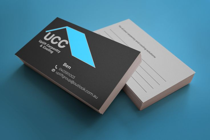 Nice simple clean and practical #logo and #businesscard for a local #smallbusiness