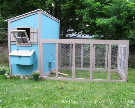 Free chicken coop plans for 3 chickens woodworking for Chicken run plans