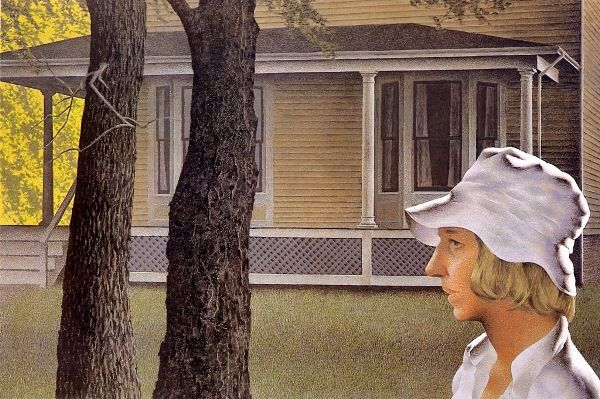 Summer in Town alex colville