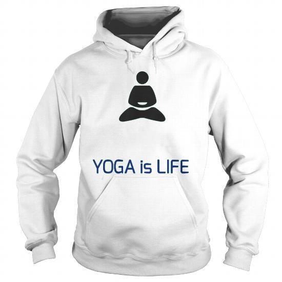 YOGA IS LIFE Tshirts