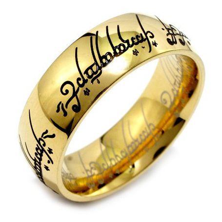 Prsten z chirurgické oceli Pán prstenů WEST SIDE RRC2210 velikost 56