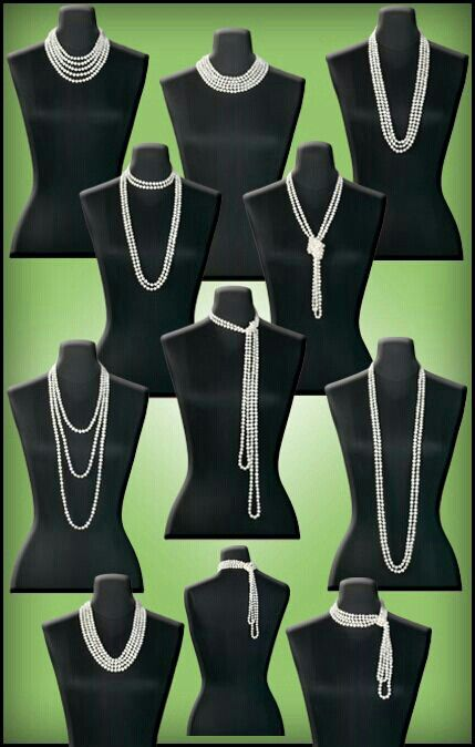 Many Ways To Wear Your Classic Pearls...