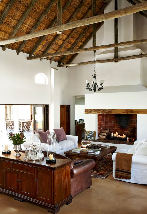 20 Living Room With Fireplace That Will Warm You All: 63 Best Cape Dutch Architecture Images On Pinterest