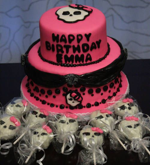 1000 Images About Monster High Cakes On Pinterest