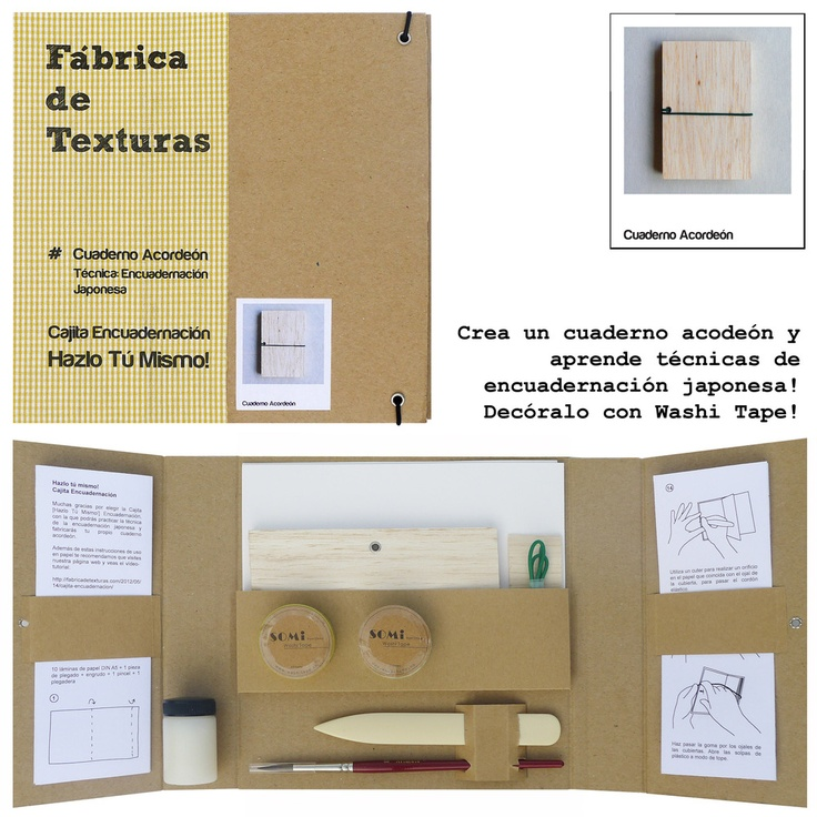 14 best portfolio design images on pinterest book binding basic bookbinding kit with this diy kit you can learn basic craft bookbinding solutioingenieria Image collections