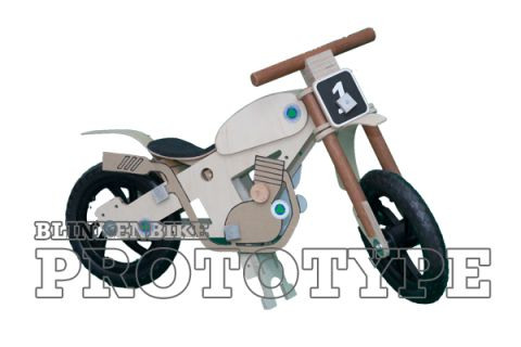 BLINKENBIKE Model WildDuck with Motorcross Accessories