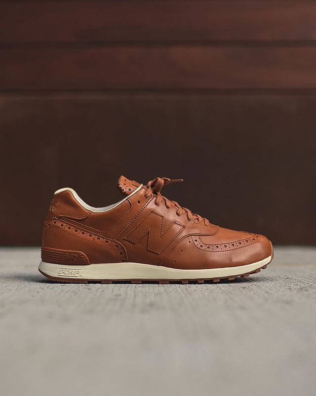 New Balance x Grenson 576 Brogue. Available in-store only at Kith Manhattan. $400 USD.