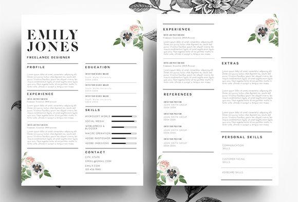 Modern Resume/ PSD+Word File   @creativework247