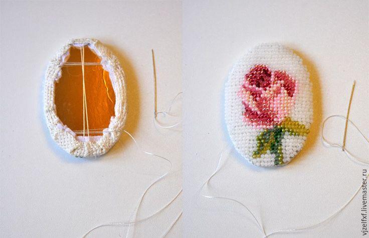 К большому празднику создаем маленькую пасхальную брошь - Ярмарка Мастеров - ручная работа, handmade