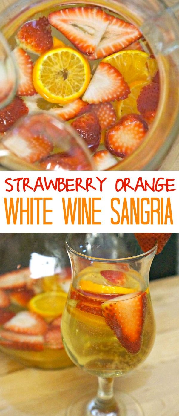 25+ best ideas about White sangria strawberry on Pinterest ...