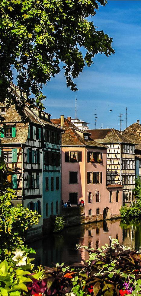 Les jolies #couleurs de #Strasbourg...