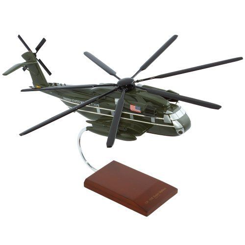 "CH-53E Presidential Support by Toys and Models. $147.29. From the Manufacturer                The CH-53E Super Stallion is the biggest helicopter in the military of the United States. It was built by Sikorsky Aircraft and it is intended for shipping of equipments, goods and personnel in some operations. It is capable in all kinds of weather conditions both day and night. The sailors usually called the CH-53E the ""Hurricane Maker"" because of the downward forc..."