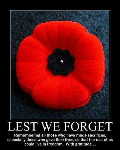 True Canadianism - from new to old we honour our heroes...quietly and respectfully