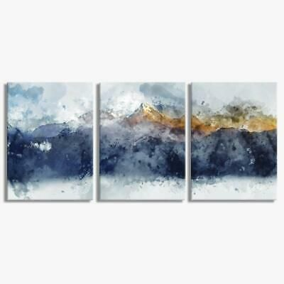 Best Details About Abstract Mountain Landscape Set Of 3 12X16 400 x 300