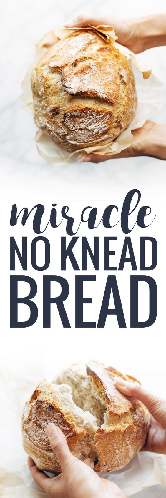 Miracle No Knead Bread! this is SO UNBELIEVABLY GOOD and ridiculously easy to make. crusty outside, soft and chewy inside - perfect for dunking in soups! | pinchofyum.com