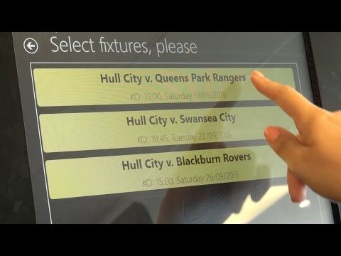 How To | Tiger Leisure Self Service Ticket Machines - YouTube