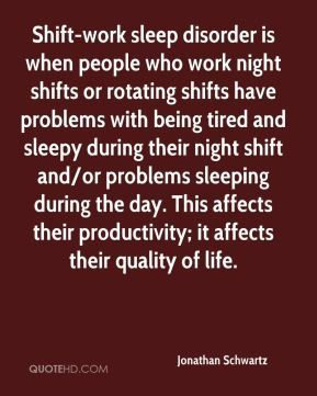 work night shift can't sleep | - Shift-work sleep disorder is when people who work night shifts ...
