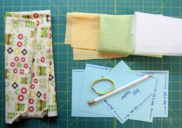 DIY Minibuch Stoffhülle für Pixi Bücher   Nähanleitung   crafts idea   tutorial  was eigenes Blog