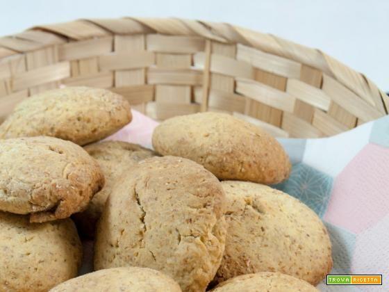 Biscotti integrali al miele senza burro  #ricette #food #recipes