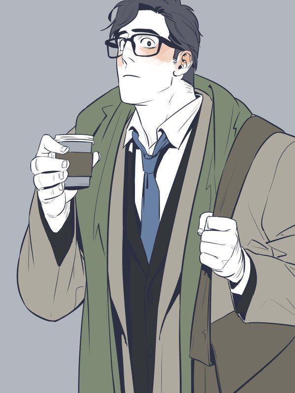 """Clark Kent: figlio minore di Neville Kent, lavora anche lui nel """"Vest Styles"""" anche se sembra spesso annoiato.  Nel tempo libero si dice che lavori in un giornaletto locale."""