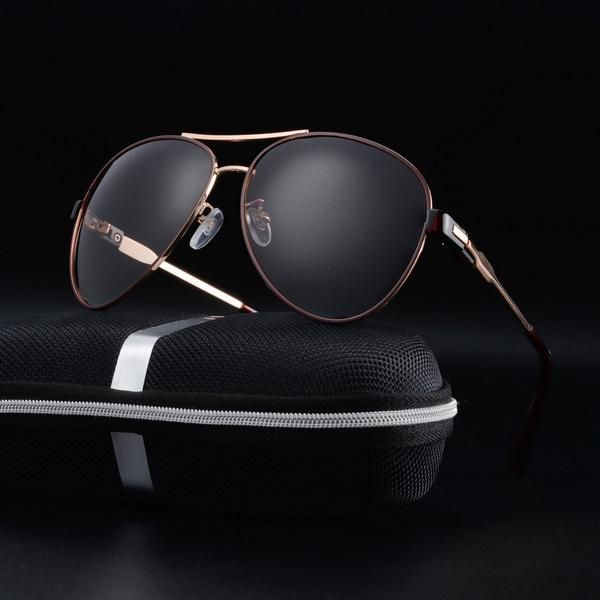 FuzWeb:2017 sun glasses for men pilot men polarized sunglasses gafas de sol hombre sunglasses men polarized lunettes de soleil homme