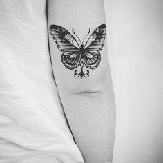 Veja nossa seleção com 80 fotos de tatuagens de borboletas belíssimas para você se inspirar na escolha.